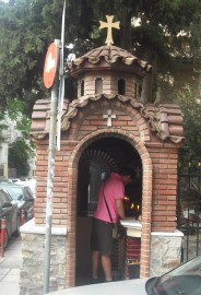 Street Chapel in Greece