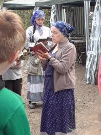Camp Leader Explains Prayers
