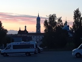 Optina at the Setting of the Sun